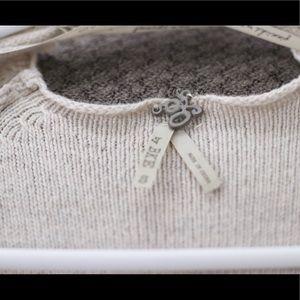 BKE Sweaters - Cardigan with fringe